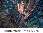 new york  usa   8 may 2017 ... | Shutterstock . vector #745579978