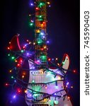 Merry Christmas Music Guitar...