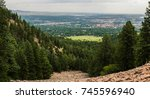 Overlooking Boulder Colorado A Trail - Fine Art prints
