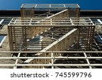 image of apartment building... | Shutterstock . vector #745599796