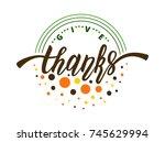 vector illustration for... | Shutterstock .eps vector #745629994