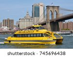 new york city   aug. 27  ny... | Shutterstock . vector #745696438