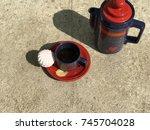 sweet tea | Shutterstock . vector #745704028