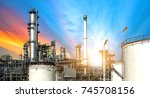 Close Up Oil And Gas Refinery...