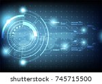 vector illustration  circle...   Shutterstock .eps vector #745715500