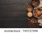 cooking ingredients for...   Shutterstock . vector #745727398