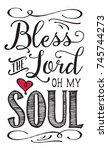 christian vector biblical...   Shutterstock .eps vector #745744273