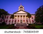 early morning at the old... | Shutterstock . vector #745804549