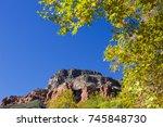 Sedona  Az Red Rock Framed By...