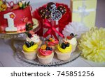 cake and desserts | Shutterstock . vector #745851256