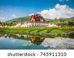 royal flora  thailand | Shutterstock . vector #745911310