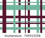 dark magenta and turquoise... | Shutterstock .eps vector #745915258