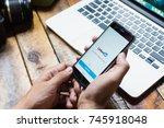 chiang mai  thailand oct 26... | Shutterstock . vector #745918048