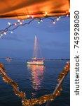 Sailboat During A Florida...