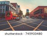 oct 20  2017   london   street... | Shutterstock . vector #745933480