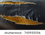 abstract background of torn old ... | Shutterstock . vector #745935556