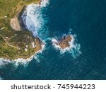 the landscape  timang beach ... | Shutterstock . vector #745944223