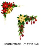 christmas elements for your... | Shutterstock .eps vector #745945768