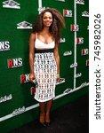 new york feb 1  actress tika...   Shutterstock . vector #745982026