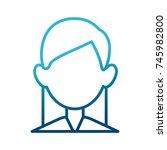 woman faceless avatar | Shutterstock .eps vector #745982800