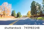 pov point of view   driving... | Shutterstock . vector #745983148