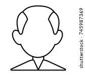 man faceless avatar   Shutterstock .eps vector #745987369