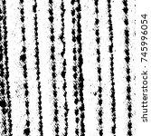 grunge black white. monochrome... | Shutterstock .eps vector #745996054