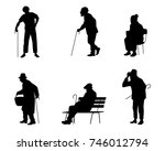 vector illustration of a six... | Shutterstock .eps vector #746012794