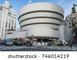 new york  usa   oct 6  2017  ...   Shutterstock . vector #746014219