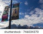 canmore  alberta  canada  ... | Shutterstock . vector #746034370
