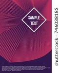 minimum geometric coverage.... | Shutterstock .eps vector #746038183