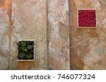 modern and multifunctional flat ... | Shutterstock . vector #746077324