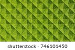 grass geometric pattern... | Shutterstock . vector #746101450