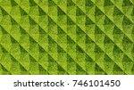 grass geometric pattern... | Shutterstock . vector #746101450