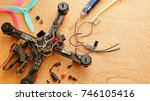 drone   electronic speed... | Shutterstock . vector #746105416