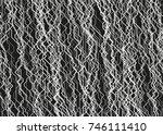 modern monochrome vector linear ... | Shutterstock .eps vector #746111410