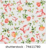 seamless background.... | Shutterstock .eps vector #74611780