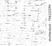 seamless grunge black white.... | Shutterstock . vector #746122294