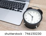 time efficiency. | Shutterstock . vector #746150230