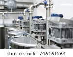 mixer drive gearboxes mounted... | Shutterstock . vector #746161564