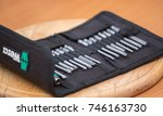 city of moscow  german tools  ...   Shutterstock . vector #746163730
