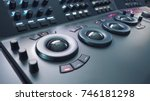telecine control machine for... | Shutterstock . vector #746181298