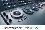 telecine control machine for... | Shutterstock . vector #746181298