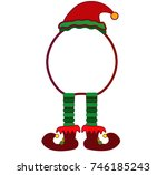 elf cartoon | Shutterstock .eps vector #746185243
