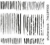 grunge lines for web design   Shutterstock .eps vector #746189500