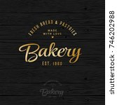 The Bakery Logo. Bread And...
