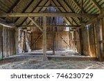 Old Desolate Barn In Kampinos...