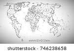 political map abstract of the...   Shutterstock .eps vector #746238658