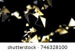 abstract background macro... | Shutterstock . vector #746328100