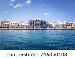 hamilton harbor  bermuda | Shutterstock . vector #746350108